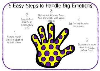 Handling Emotions and Feelings - Poster Printable