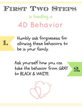 Handling Heart Behaviors Poster & Worksheet Pack