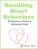 Handling Heart Behaviors Poster & Worksheet Pack