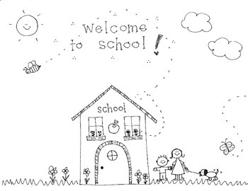 "Handmade ""Back to School"" with Schoolhouse"