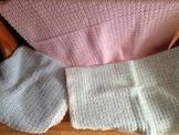 Handmade Crocheted Baby Blankets