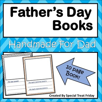 Handmade Father's Day Books