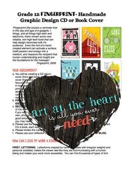 Handmade Graphic Design Assignment (Photoshop)