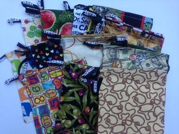 Handmade Letter Bags A-Z