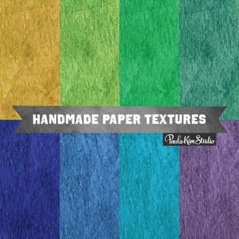 Digital Paper - Peacock Colors