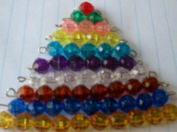 Handmade color beads