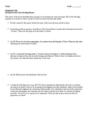 Handmaid's Tale: Historical Notes Close Reading