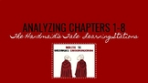 Handmaid's Tale Stations: Analyzing Chapters 1-8