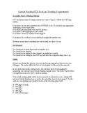 Handout Describing Outside Reading Requirements