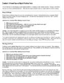Handout - Different Types of Digital Portfolio Posts