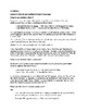 Handout: Indirect Objects and Indirect Object Pronouns (Spanish)