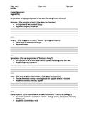 Handout: Key Phrases for Literary Elements