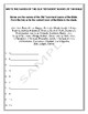 Handout - Write the Old Testament Books of the Bible w/Teacher's Ans Key
