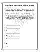 Handout - Write the Old & New Testament Books of the Bible w/Teacher's Ans Key