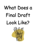 Handout for Students -- What a Final Draft Should Look Like