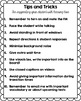 Handout for Teachers: Tips and Tricks for Deaf or Hard of Hearing Students