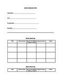Handout for student information