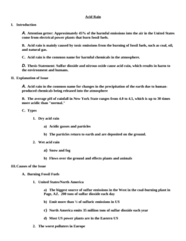 handout on outline for cause effect paper by kovescence of the mind handout on outline for cause effect paper