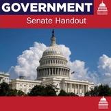 Senate Handout   US History