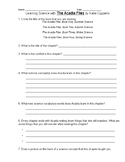 """Handout to use with any chapter from """"The Acadia Files"""""""