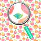 Handpainted Watercolor Apple Digital Paper / Backgrounds / Clip Art Set