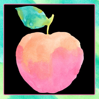 Handpainted Watercolor Apples / Fruit Clip Art Set for Commercial Use