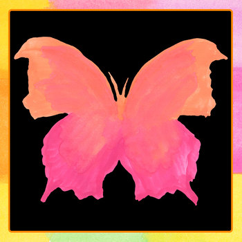 Handpainted Watercolor Butterflies Clip Art Set for Commercial Use