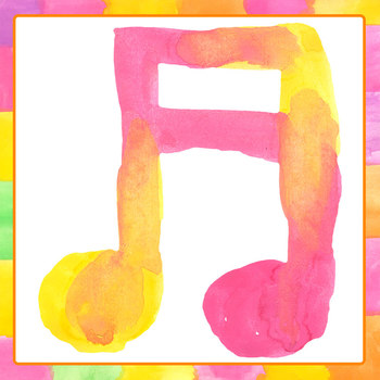 Handpainted Watercolor Music / Musical Notes Clip Art Set for Commercial Use