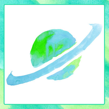 Handpainted Watercolor Planets Clip Art Set for Commercial Use