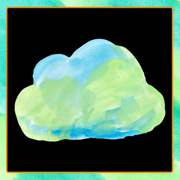 Handpainted Watercolor Rainbow Clouds / Weather Clip Art for Commercial Use