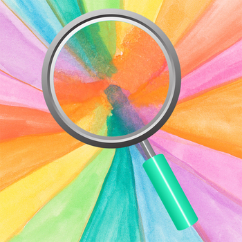 Handpainted Watercolor Rainbow Vortex Digital Papers / Backgrounds