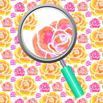 Handpainted Watercolor Roses / Floral Digital Paper / Patterns / Backgrounds