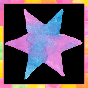 Handpainted Watercolor Stars Clip Art Set for Commercial Use