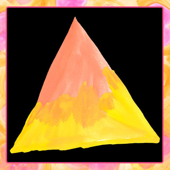 Handpainted Watercolor Triangles Clip Art Set for Commercial Use