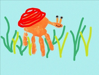 Handprint Animal Craftivity Ideas for Elementary School