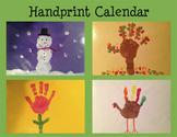 Handprint Calendar - Great Parent Christmas Gift
