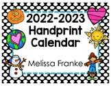Handprint Calendar 2016