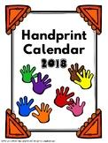 Handprint Calendar 2018