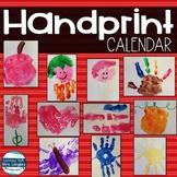 Handprint Calendar for 2019