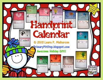 Handprint Calendar (Christmas Craft - Gift)