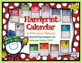 Handprint Calendar (Christmas Craft - Gift)