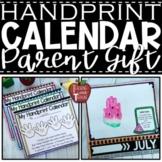 Handprint Calendar – Student Made Calendar for a Parent Ch