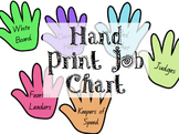 Handprint Job Chart