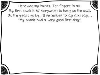 Hand print Poem