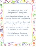 Handprint Poem For Handprint Mold Project