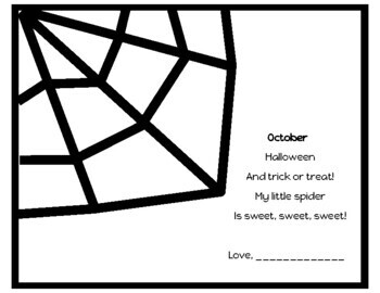 Monthly Handprint Poem Pack