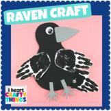 Handprint Raven or Crow Craft