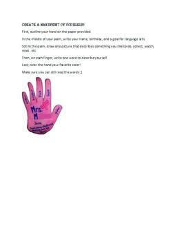 Handprint icebreaker