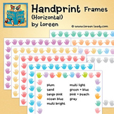 Handprints Clip Art