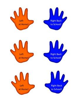 Handprints for Folders